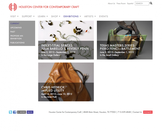Our clients want technology to make their lives easier for Houston center for contemporary craft