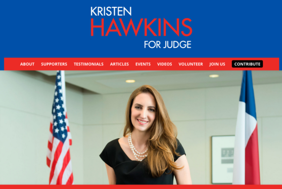 Kristen Hawkins for Judge
