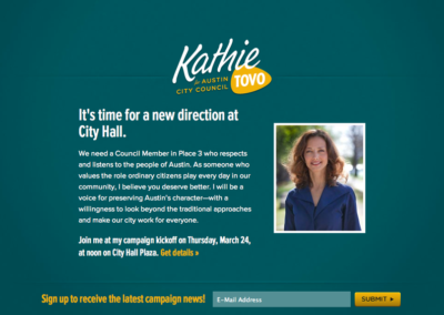Kathie Tovo for Austin City Council